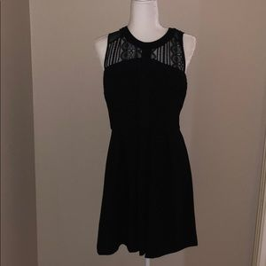NWT BCBG Black Lace Dress
